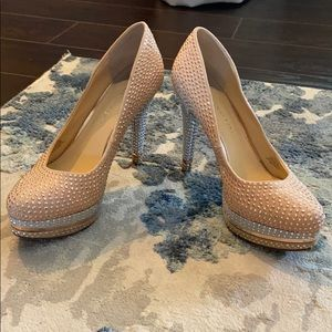 Bling. Gianni Bini High Heels. Size 7.5